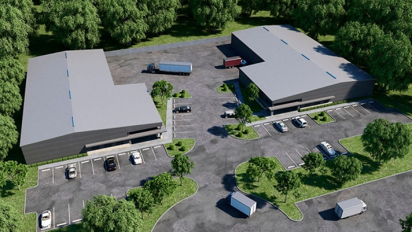 15,000 - 20,000 SF Office / Warehouse Design